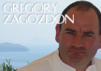 Gregory Zagozdon Executive Chef Selene Gourmet Restaurant Thera Santorini Greece