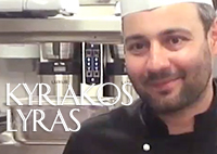Kyriakos Lyras, Executive Chef Galaxy Hotel in Herakleion on the Greek Island of Crete