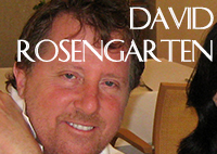 David Rosengarten, TV Chef from The Food Network and Author