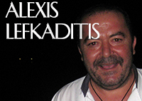 Alexis Lefkaditis, Executive Chef at the Blue Palace Resort & Spa in Elouda, Crete, Greece