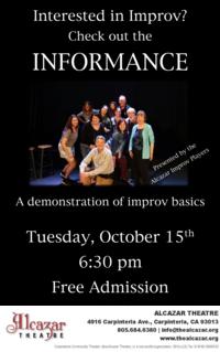 Alcazar Improv Players present: Informance