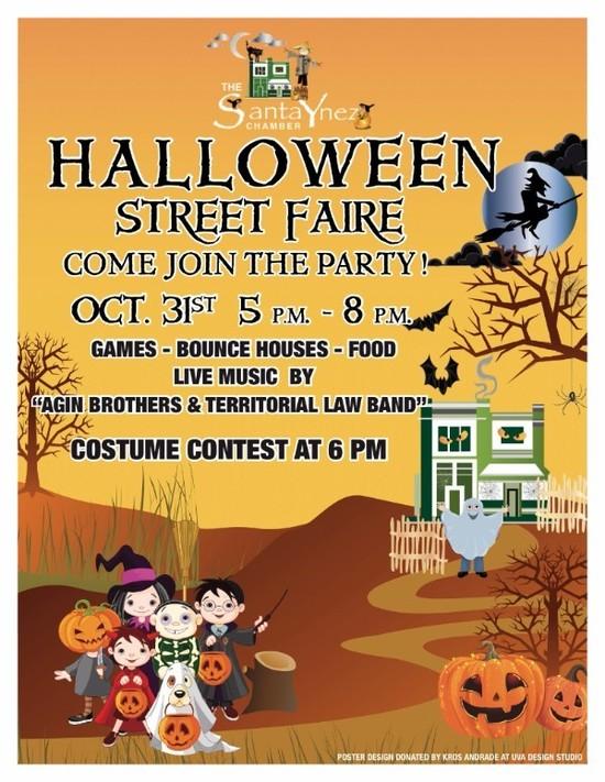 Halloween Street  Faire Santa Ynez