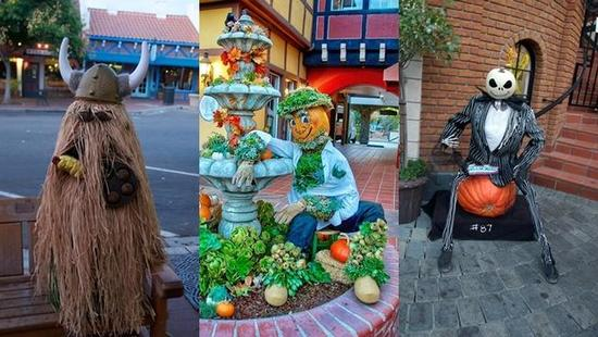 Scarecrows to Add Whimsy to Wine Country