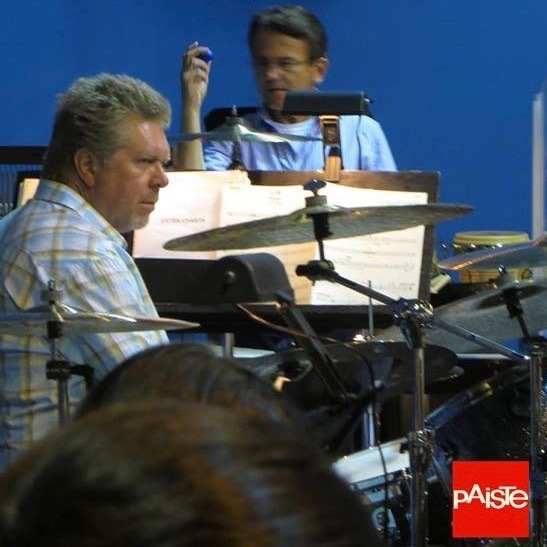 """Featuring John """"JR"""" Robinson, the mosted recorded drummer in the history of pop music."""