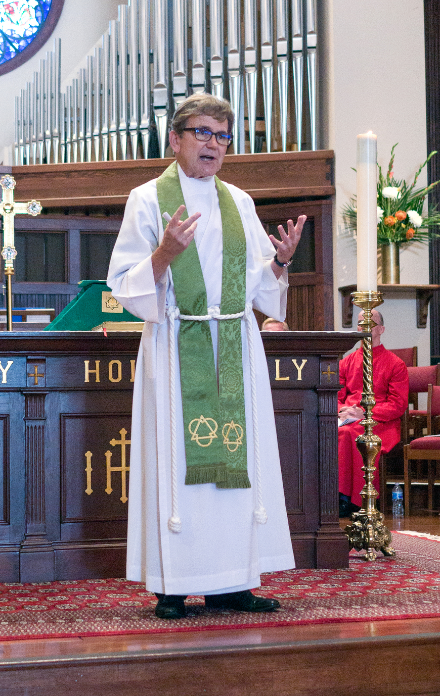 Preaching at St. James, Newport Beach