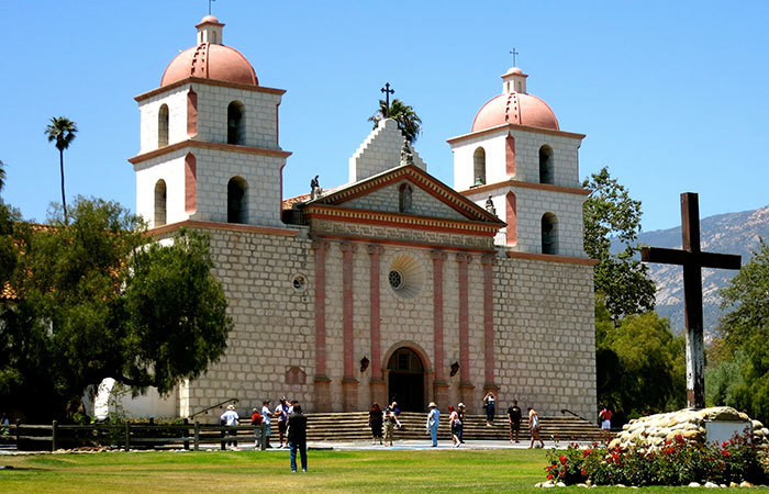 Santa Barbara Mission Docent Tours