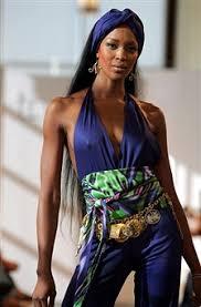 Naomi Campbell in Tamsen