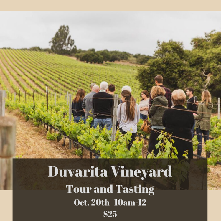 Duvarita Vineyard Tour and Tasting