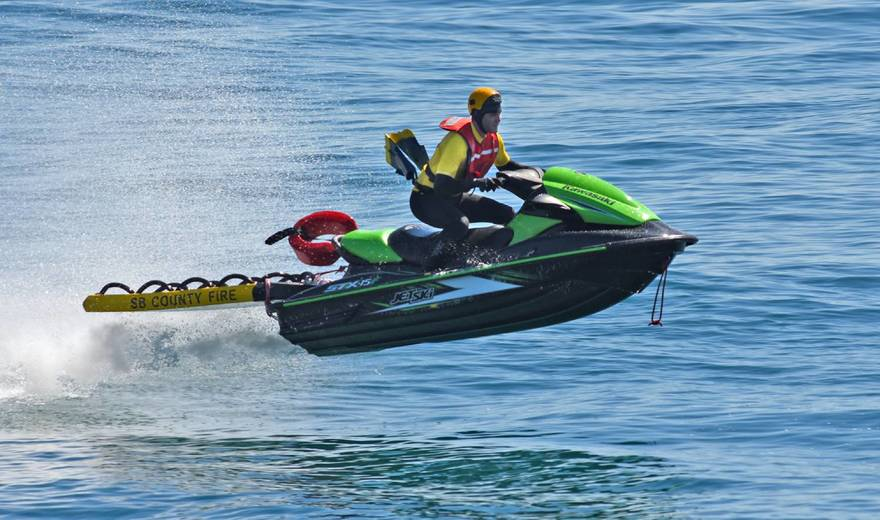 Water Rescue Team Santa Barbara County Fire Department-2