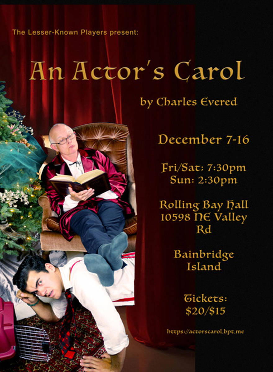 A very different Dickens: Lesser-Known Players to stage 'An Actor's Carol'-2