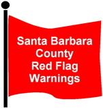 Red Flag Warnings Santa Barbara County Fire Department-1
