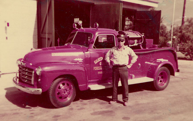 1950's Santa Barbara County Fire Department
