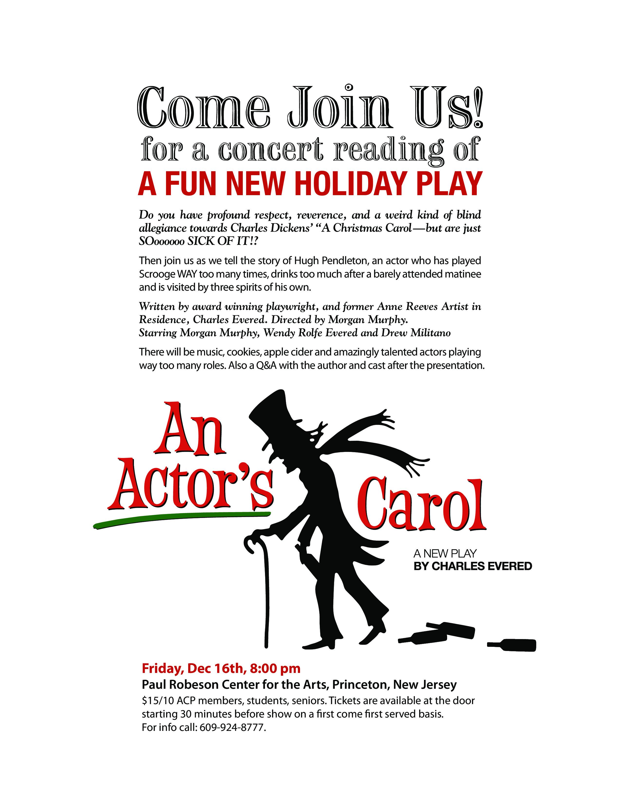The Arts Council An Actor's Carol-2