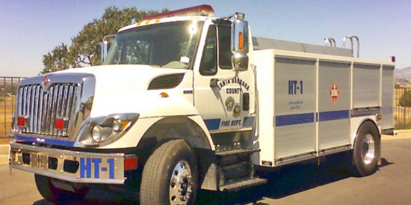 Helitender Santa Barbar County Fire Department