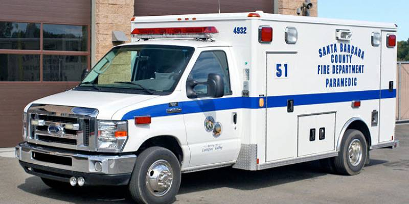 Rescue Ambulance (R/A) Santa Barbara County Fire Department-1
