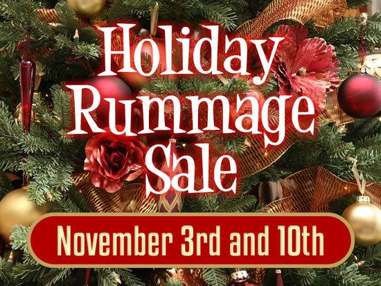Holiday Rummage Sale