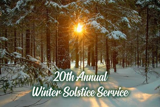 20th Annual Winter Solstice Service