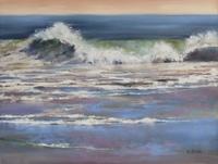 Pastel Painting Buck