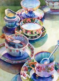 Watercolor Whites Quiel