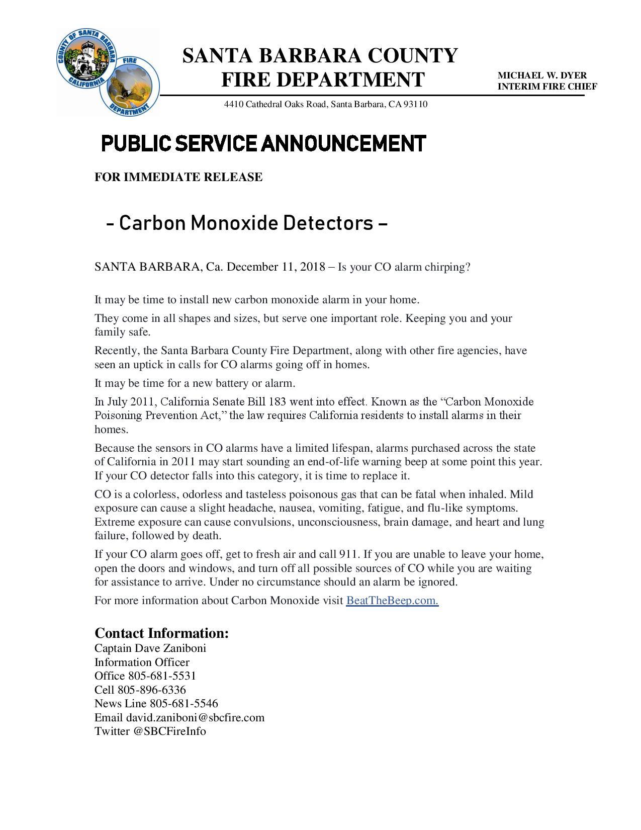 Carbon Monoxide Detectors-pg1
