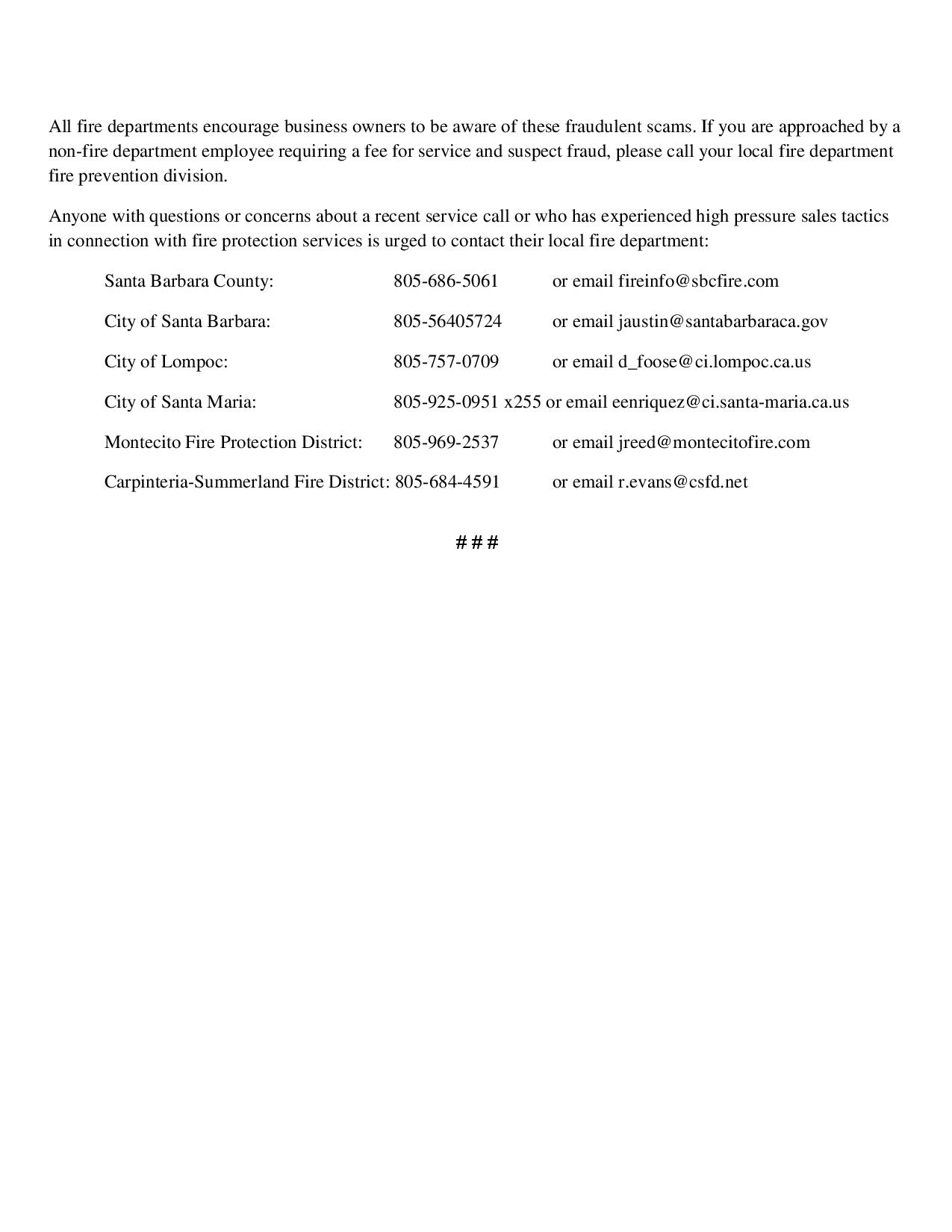Beware of Fraudulent Fire Inspections and Services-pg2