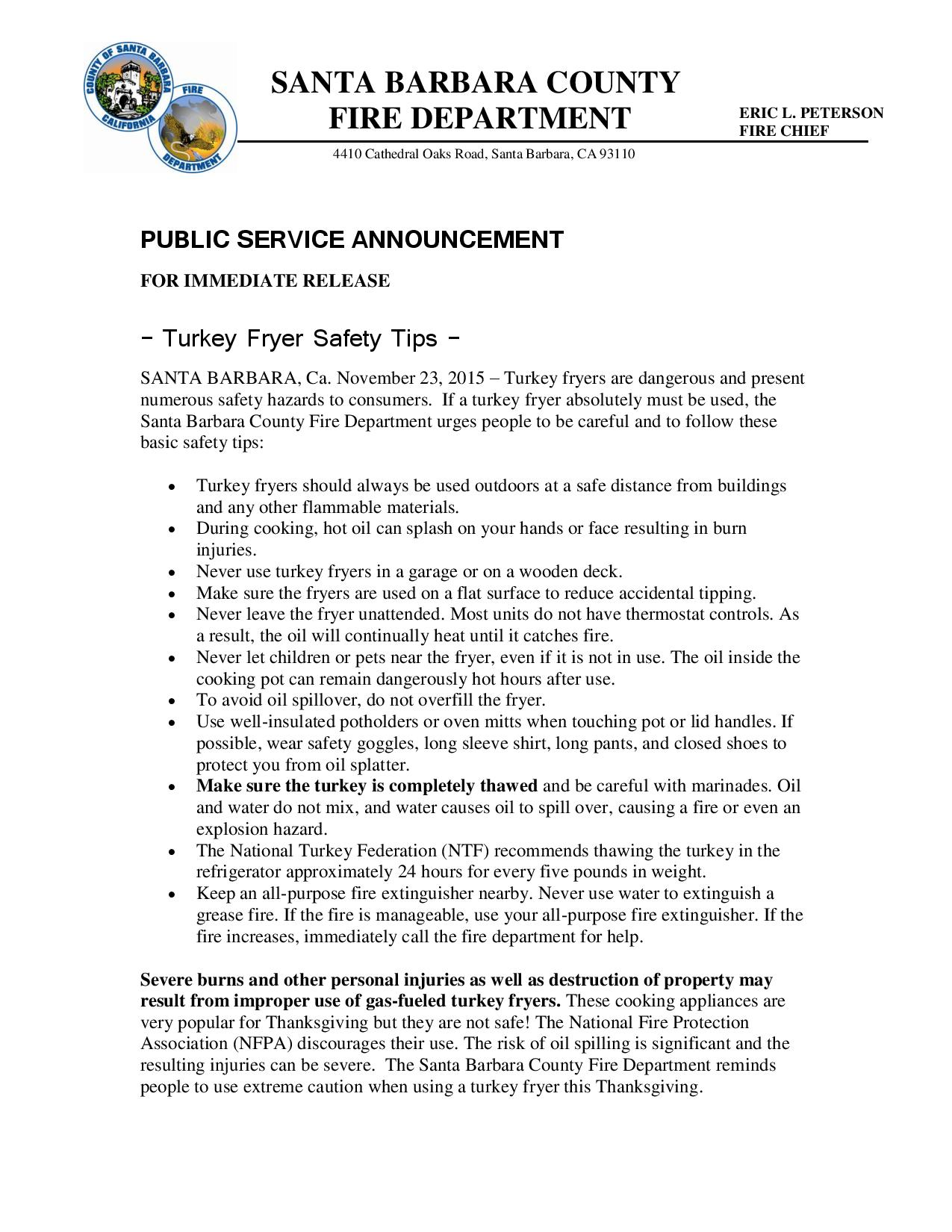Turkey Fryer Safety Tips-pg1