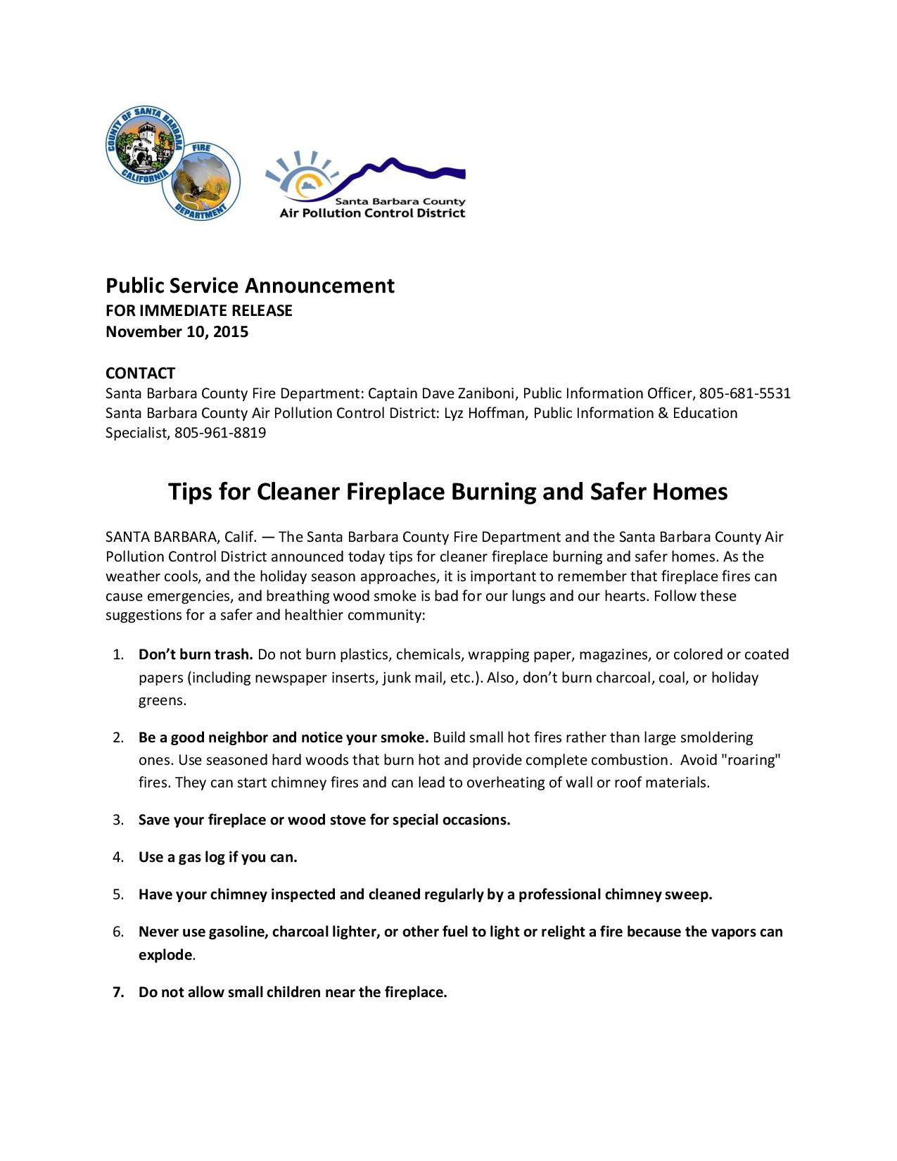 Tips for Cleaner Fireplace Burning and Safer Homes-pg1