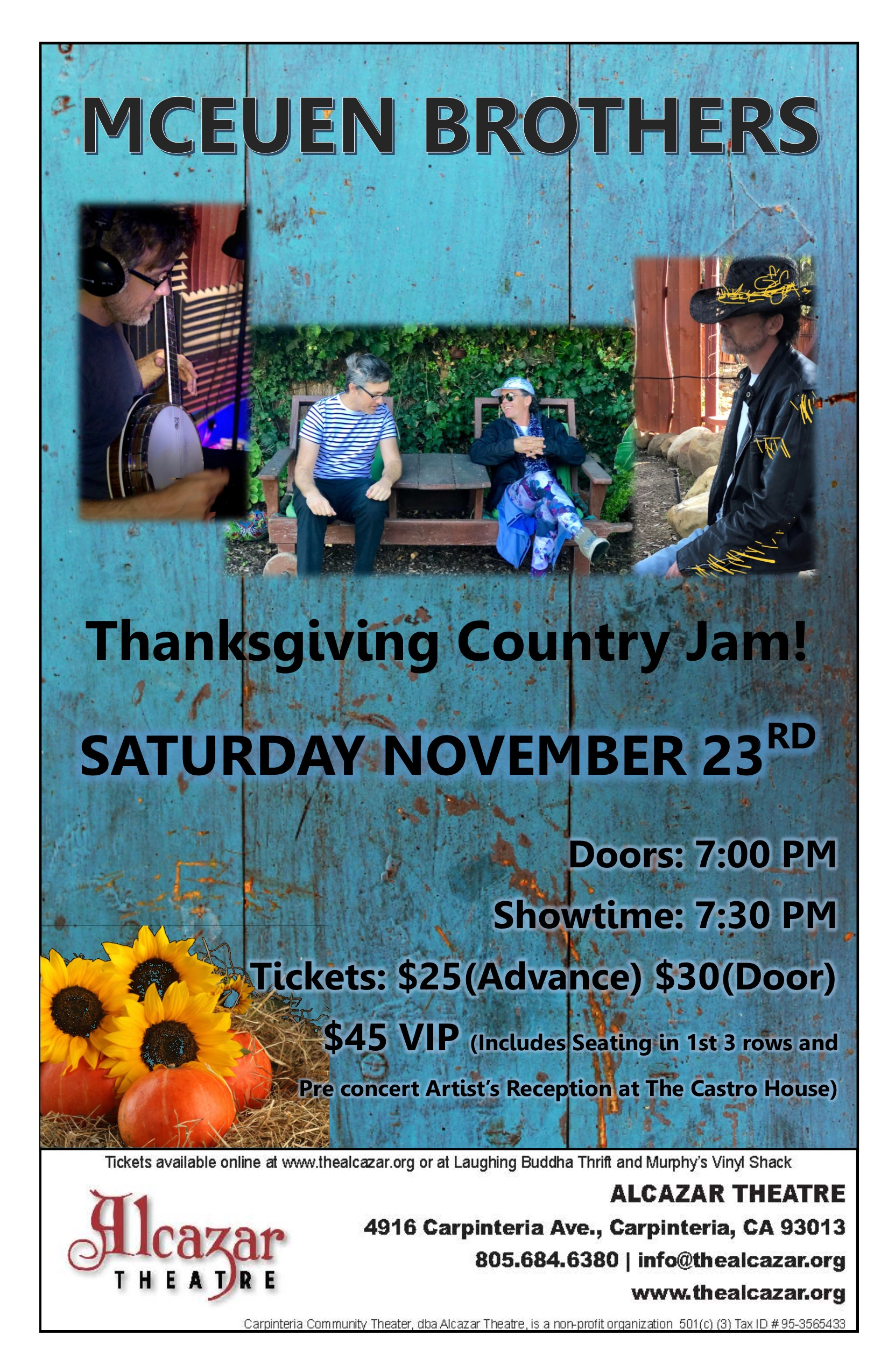 McEuen Brothers: Thanksgiving Country Jam!