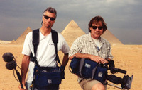 Tom and Steve at the Pyramids