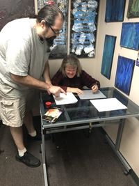 Cartoon Artist Finds his Niche through Art Teacher Internship