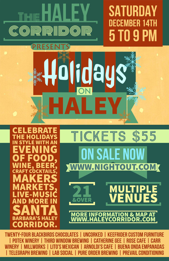Holidays on Haley Corridor 2019