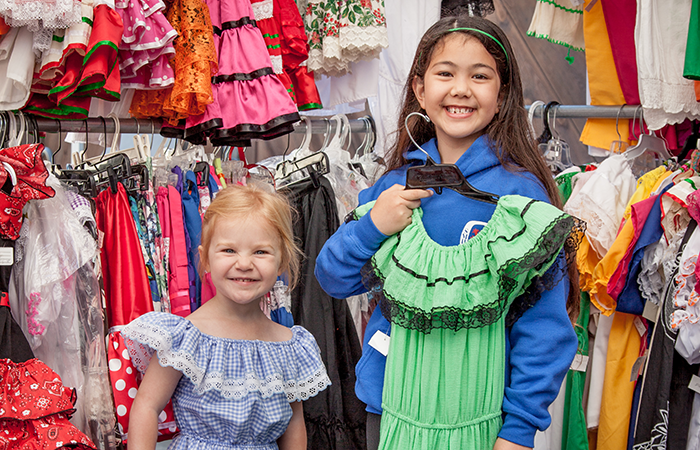 Old Spanish Days Annual Costume Sale/ 9am-1pm/ Saturday July 11th, 2020