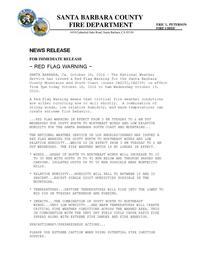 Red Flag Warning