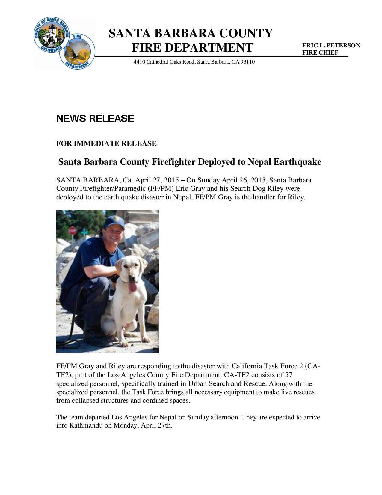 Firefighter Deployment to Nepal-pg1