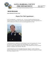 Deputy Chief