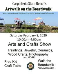 Artwalk on the Boardwalk