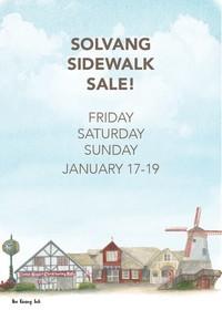 Solvang SideWalk Sale