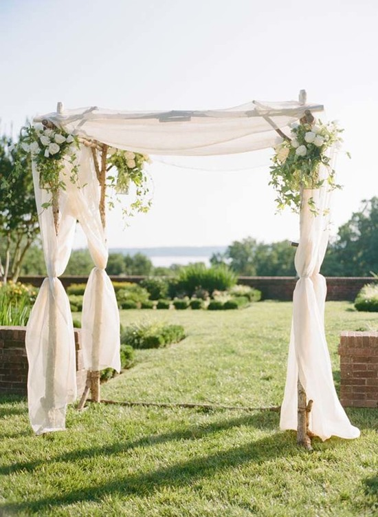 Santa Barbara Wedding Arbors Chuppahs Floral 3