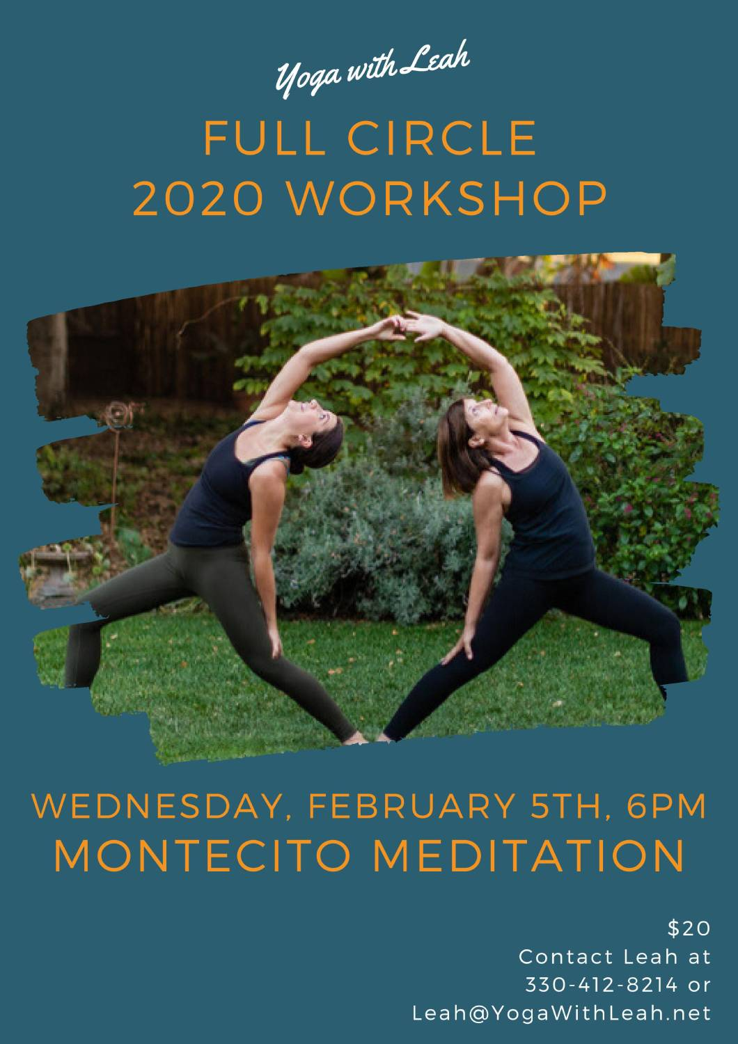 Full Circle 2020 Workshop with Leah Montegut