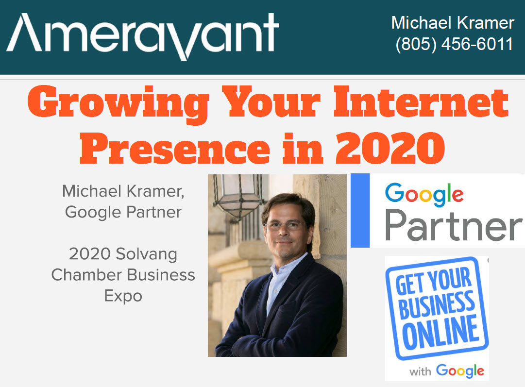 Solvang Business Expo 2020 - SEO Introduction by Michael Kramer