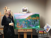Downtown Art Studio Helps Adults with Disabilities Turn Passion into a Career