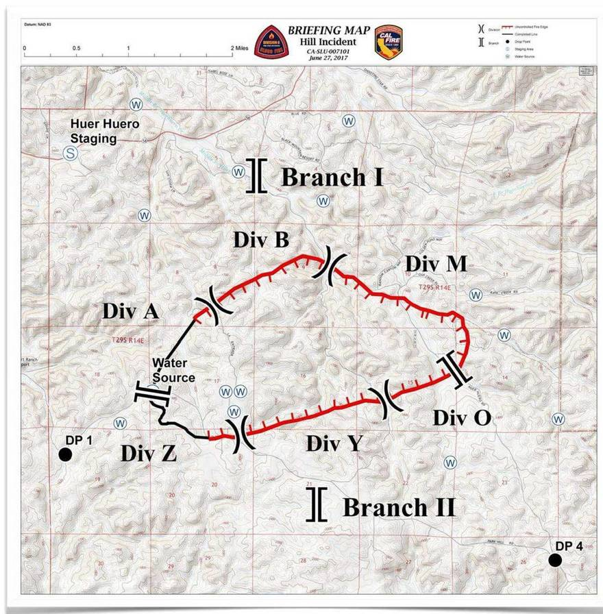 Media Guide Fire Incident Map