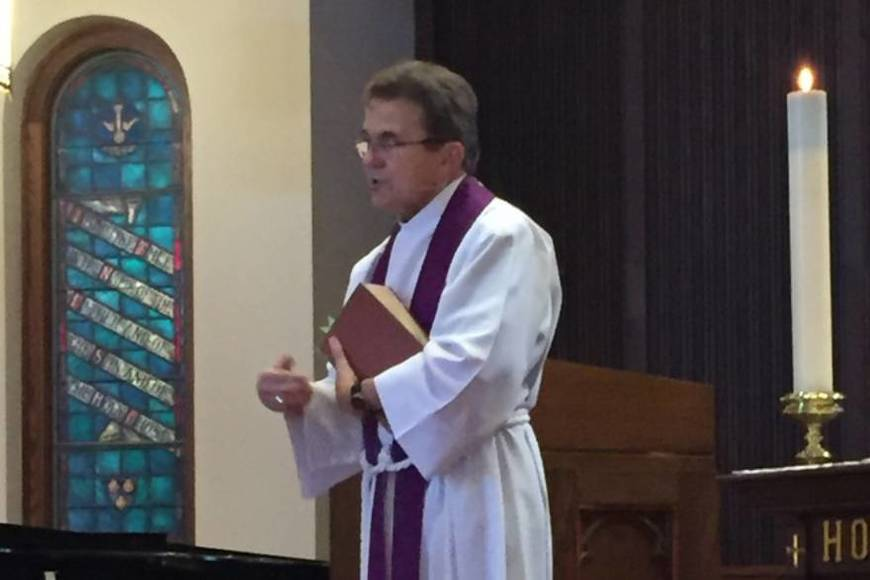 Preaching at St. James, Newport Beach