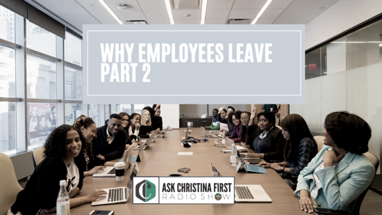 Why Employees Leave Part 2