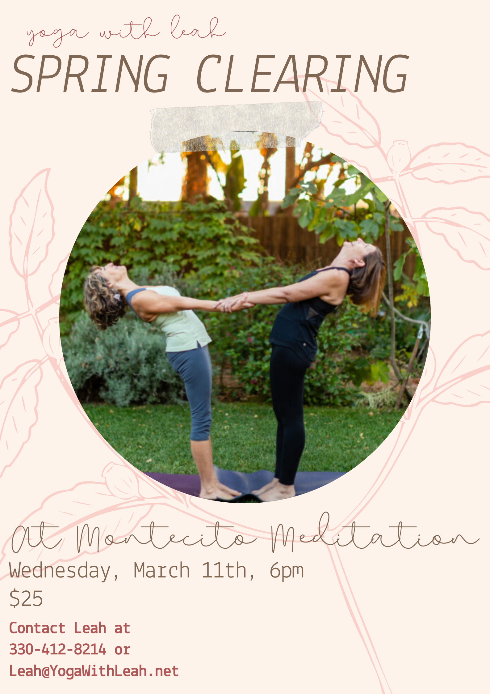 Yoga with Leah | Spring Clearing