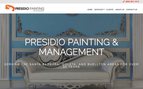 Presidio Painting and Management Homepage