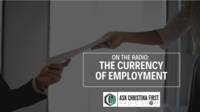 Radio: The Currency of Employment