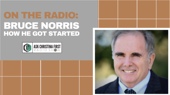 Radio: Bruce Norris, How I Got Started