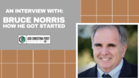 Bruce Norris, How I Got Started