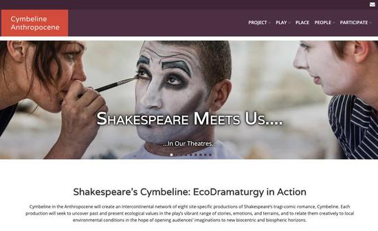Cymbeline in the Anthropocene Homepage